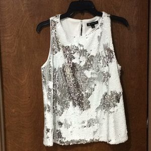 Sequin top by INC NWT